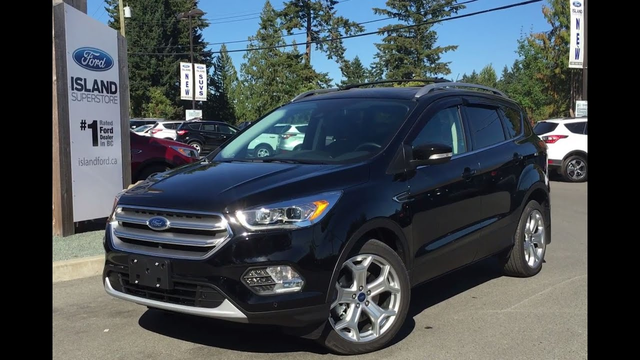 2017 ford escape review youtube