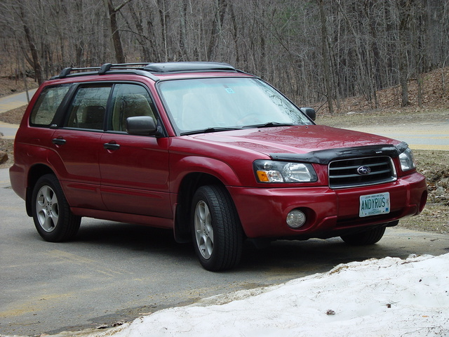 2003 subaru forester xs review