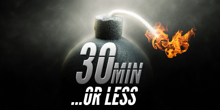 30 minutes or less review