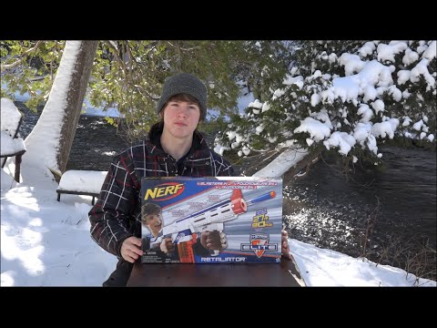 nerf boy productions unboxing and review