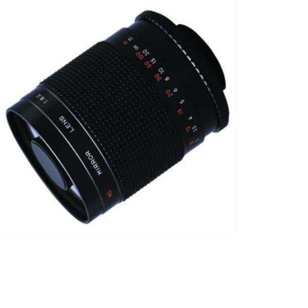 bower 500mm mirror lens review