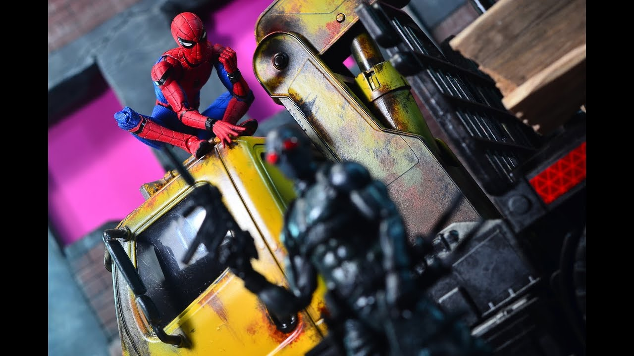 mafex spider man homecoming review
