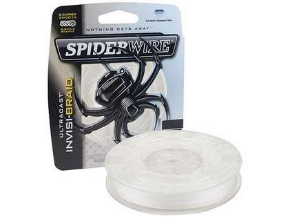 spiderwire ultracast invisi braid fishing line review