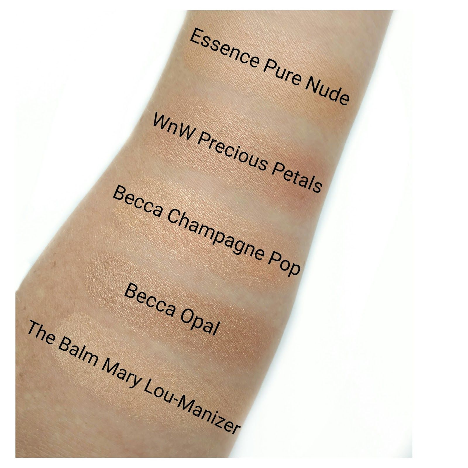 essence pure nude highlighter review