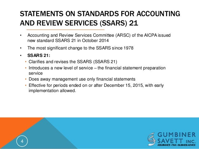 accounting and review services committee