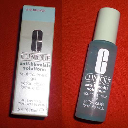 clinique anti blemish spot treatment gel review