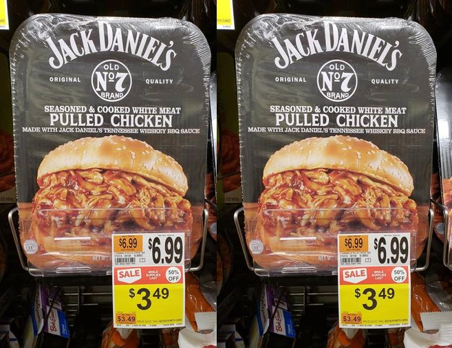 jack daniels pulled chicken review