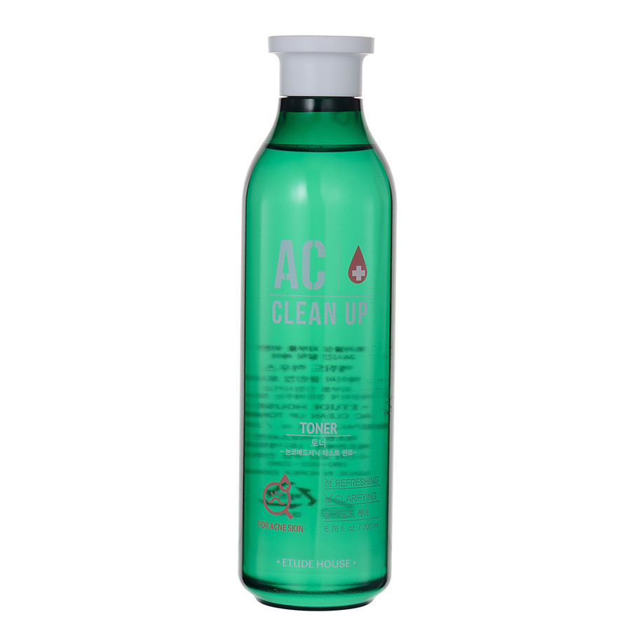etude house ac clean up toner review