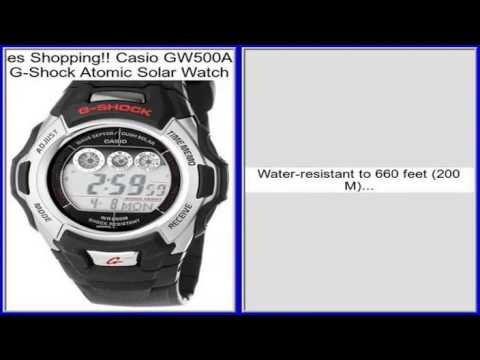 g shock solar watch review