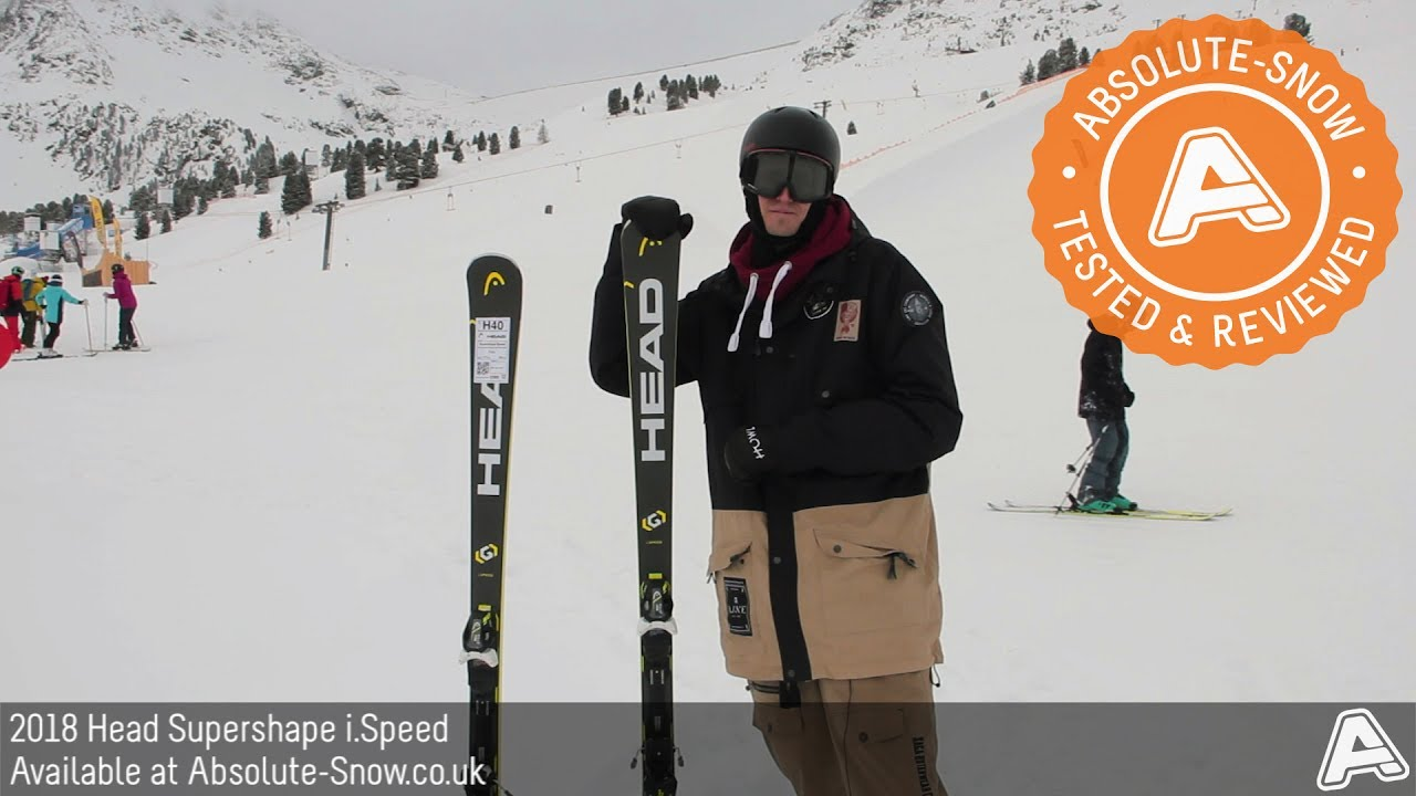 head supershape speed 2017 review