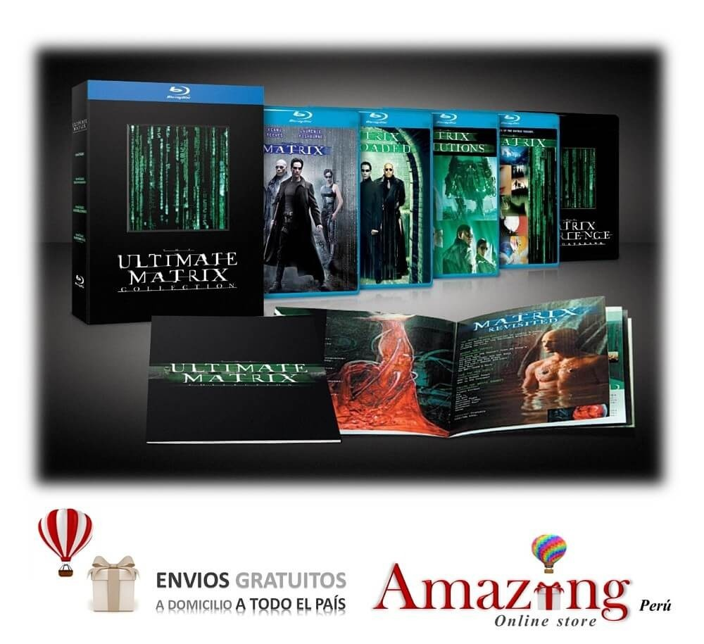 ultimate matrix collection blu ray review